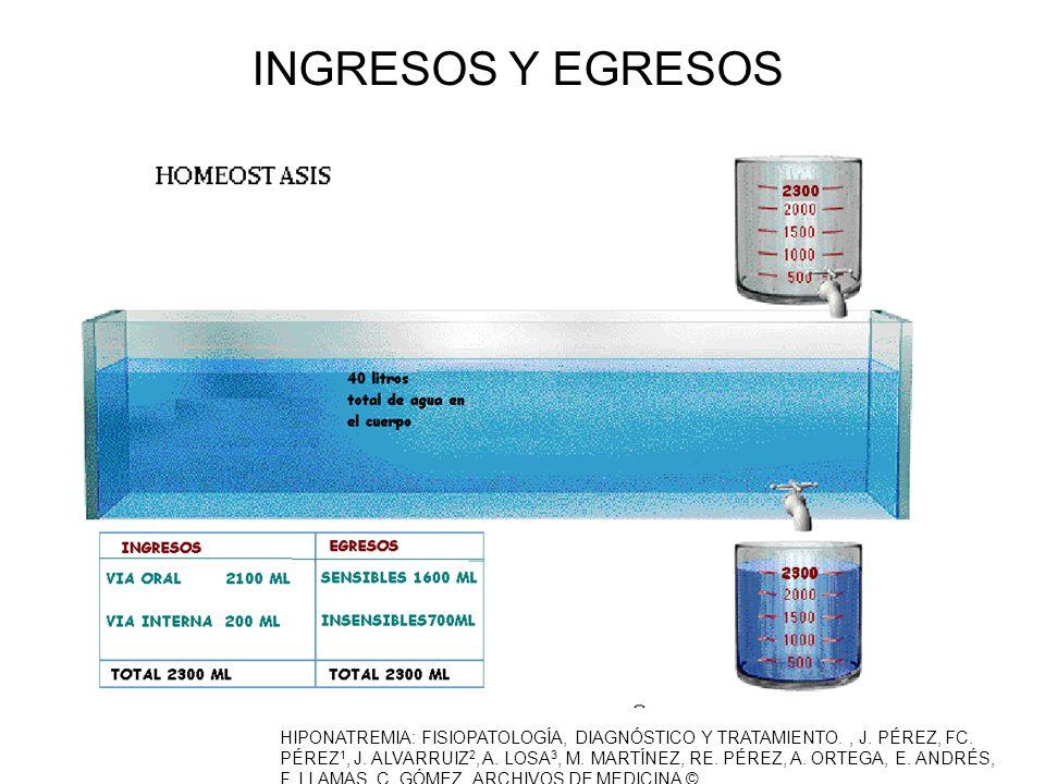 INGRESOS Y EGRESOS