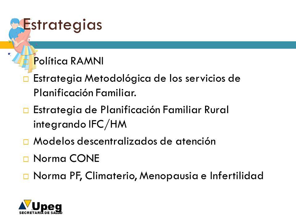 Estrategias Política RAMNI