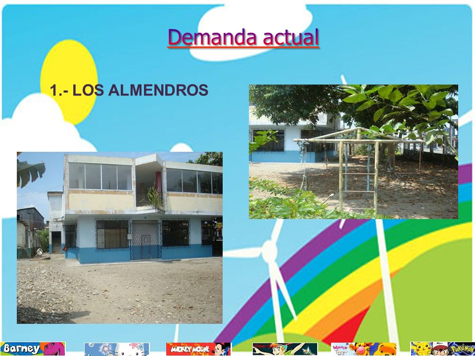 Demanda actual 1.- LOS ALMENDROS