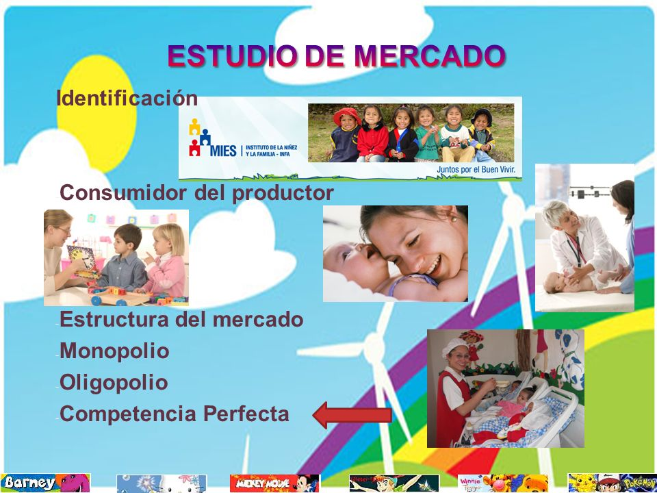 ESTUDIO DE MERCADO Identificación Consumidor del productor