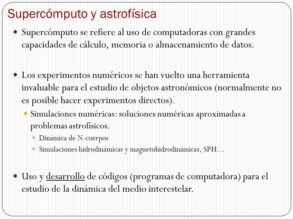 Supercómputo y astrofísica