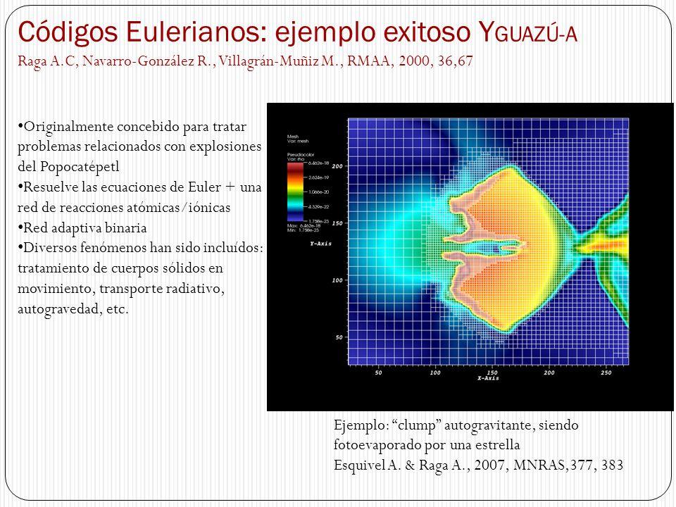 Códigos Eulerianos: ejemplo exitoso YGUAZÚ-A
