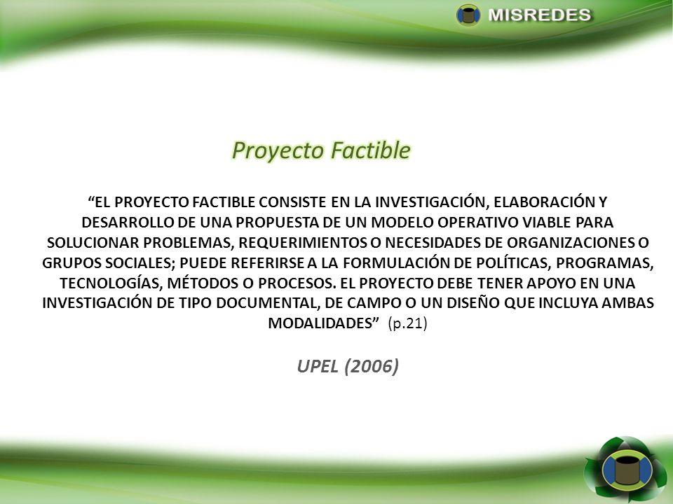 Proyecto Factible UPEL (2006)