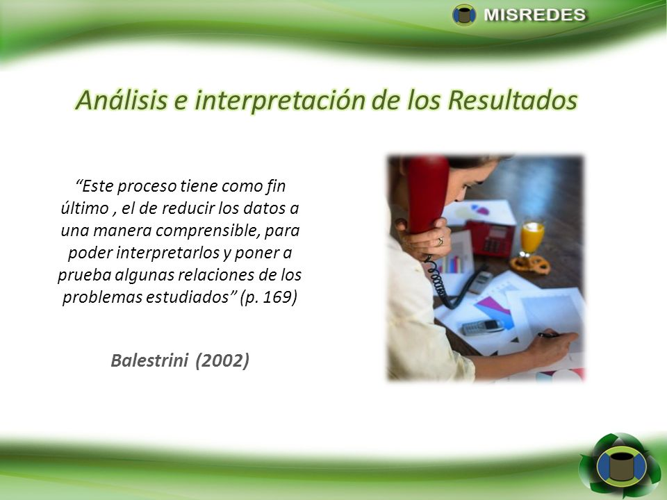 Análisis e interpretación de los Resultados
