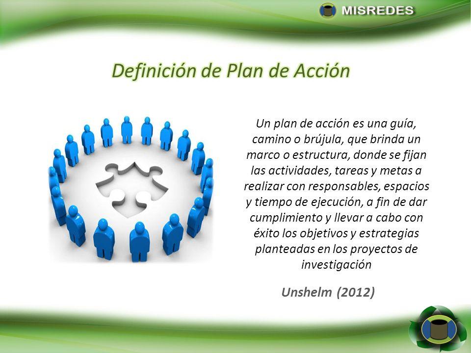 Definición de Plan de Acción