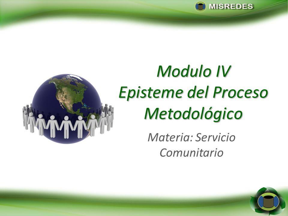 Episteme del Proceso Metodológico