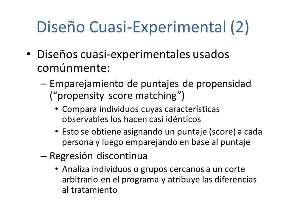 Diseño Cuasi-Experimental (2)