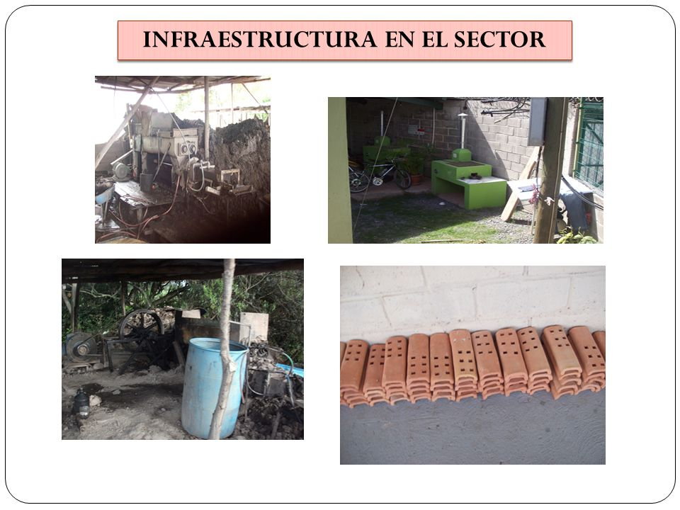INFRAESTRUCTURA EN EL SECTOR