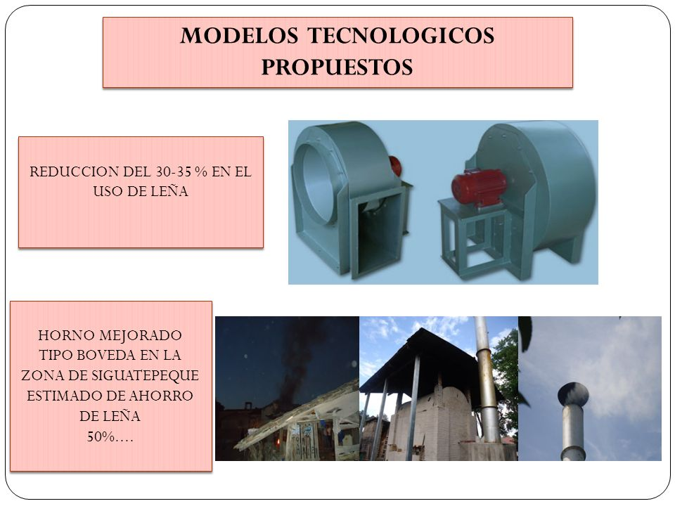MODELOS TECNOLOGICOS PROPUESTOS