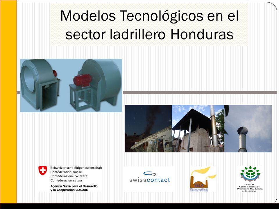 Modelos Tecnológicos en el sector ladrillero Honduras