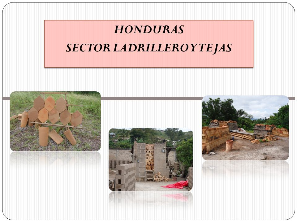 HONDURAS SECTOR LADRILLERO Y TEJAS