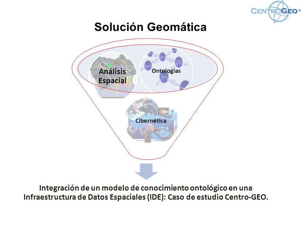 Solución Geomática Análisis Espacial