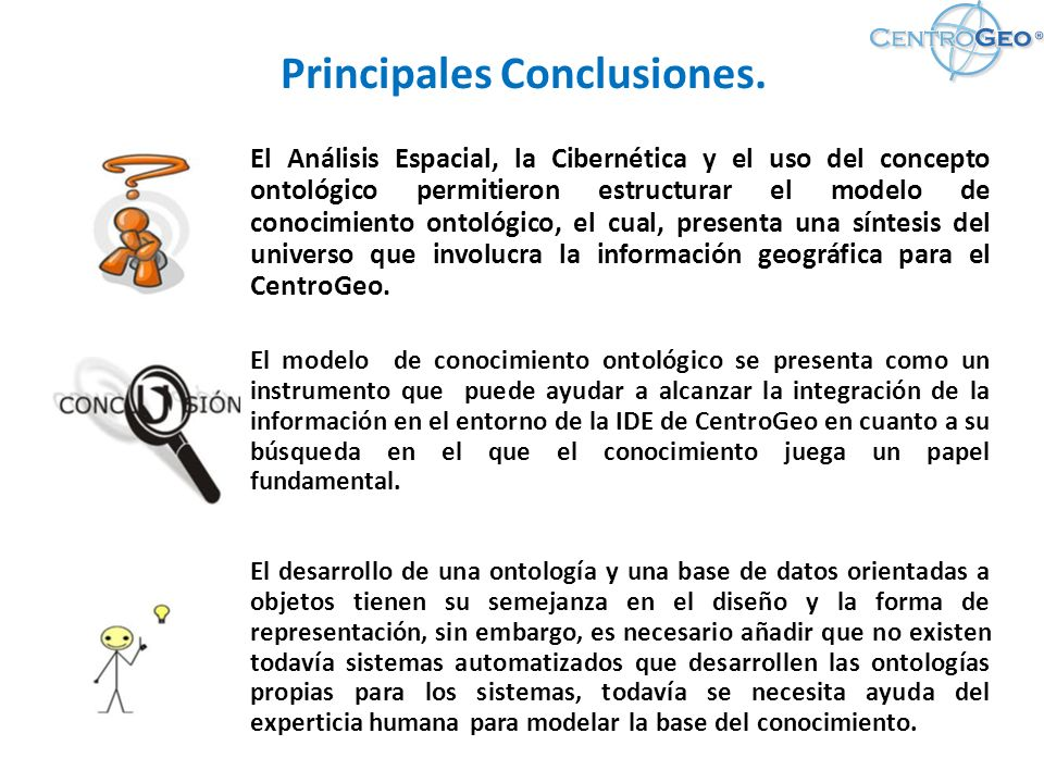 Principales Conclusiones.