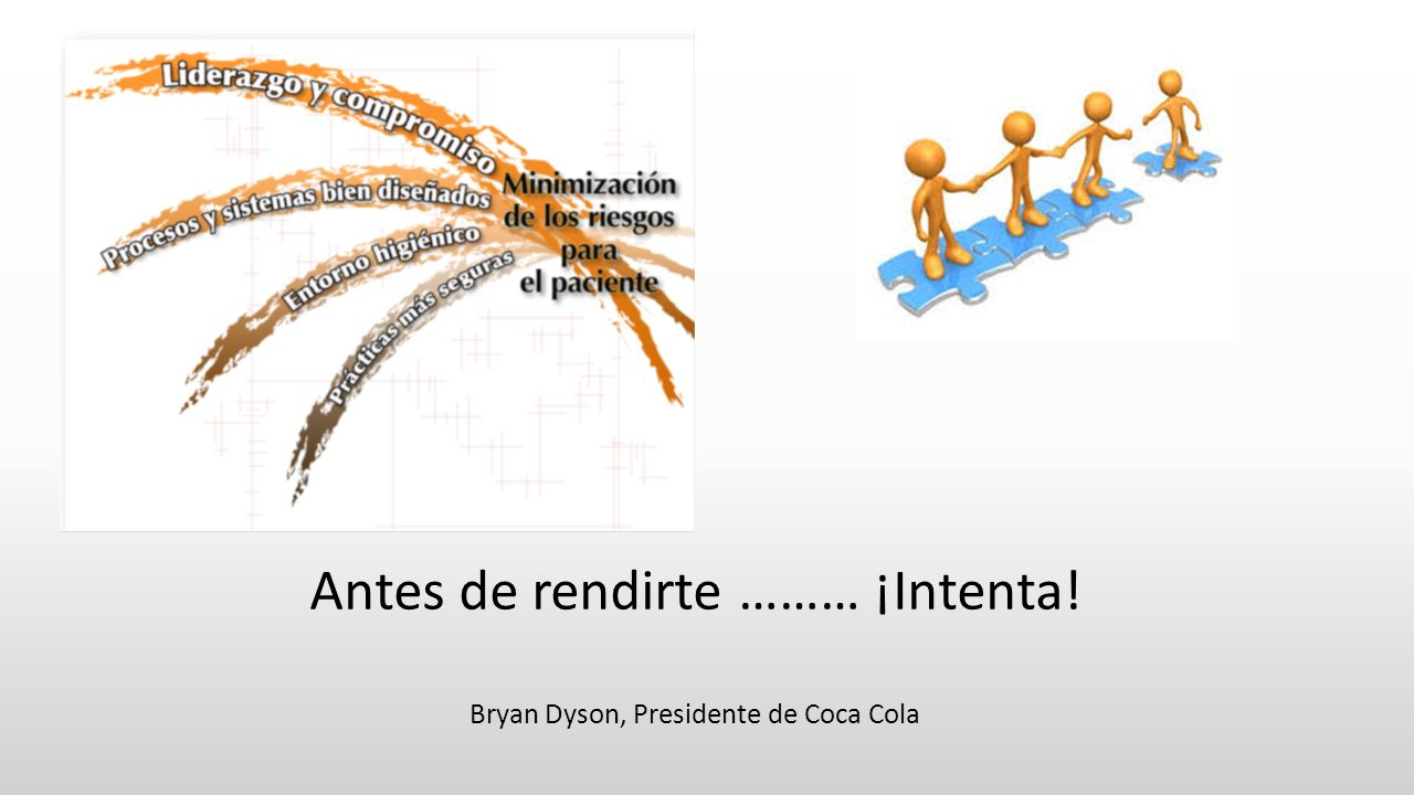 Antes de rendirte ……… ¡Intenta!