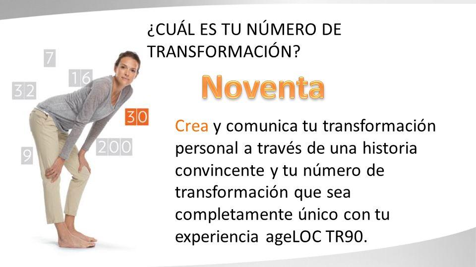 Noventa ¿Cuál es tu número de transformación