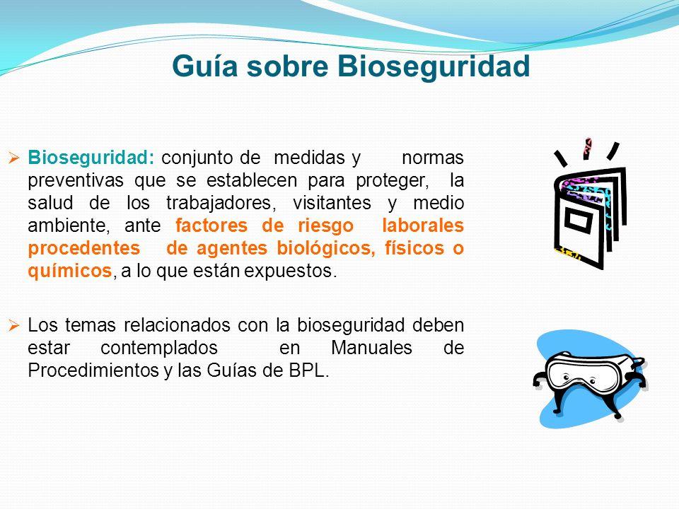 Guía sobre Bioseguridad