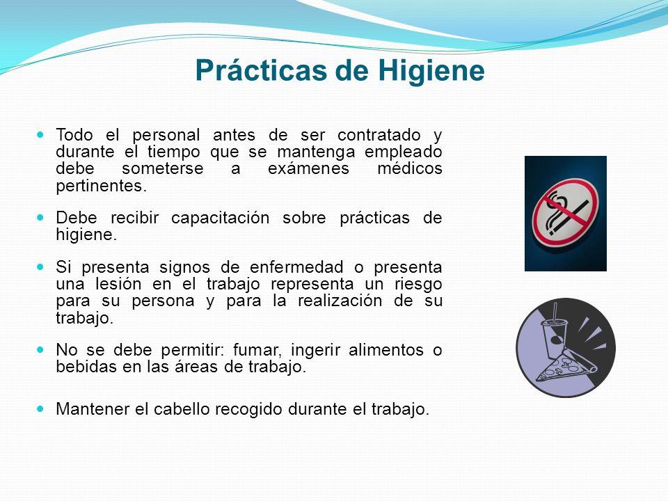Prácticas de Higiene