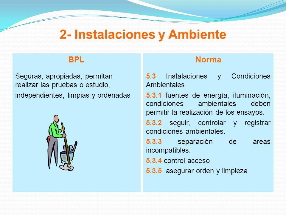 2- Instalaciones y Ambiente