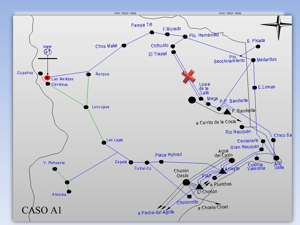 CASO A1 2012 – A1 F/S Doble Terna Trapial - Loma la Lata