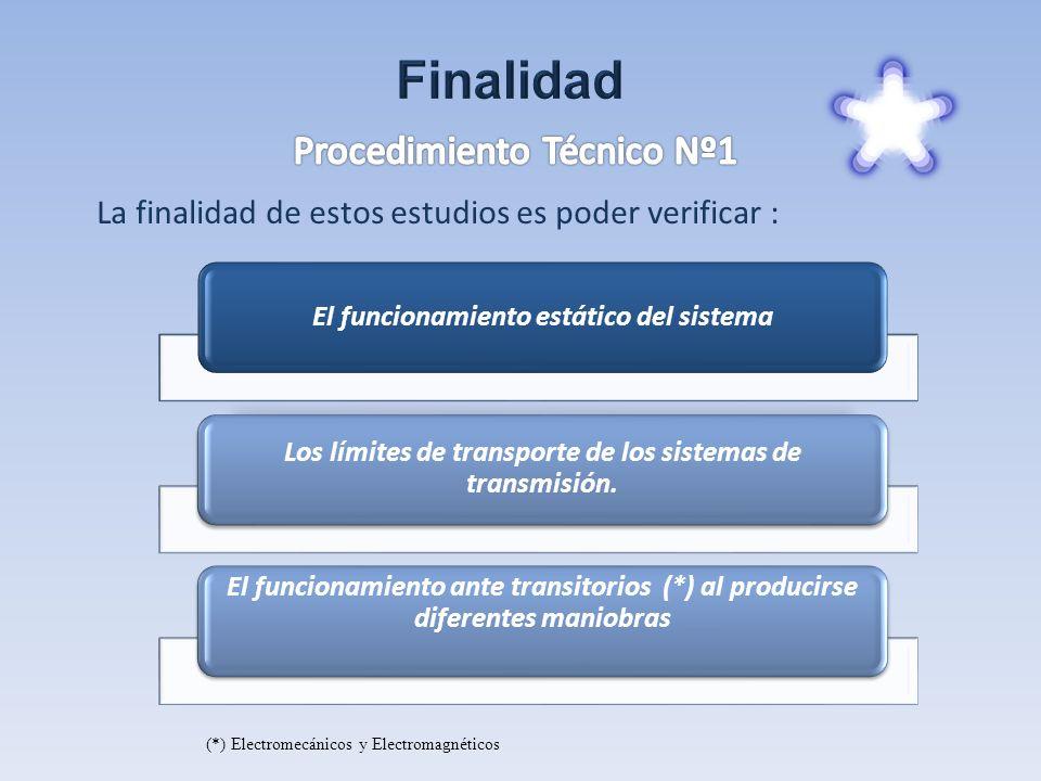 Finalidad Procedimiento Técnico Nº1