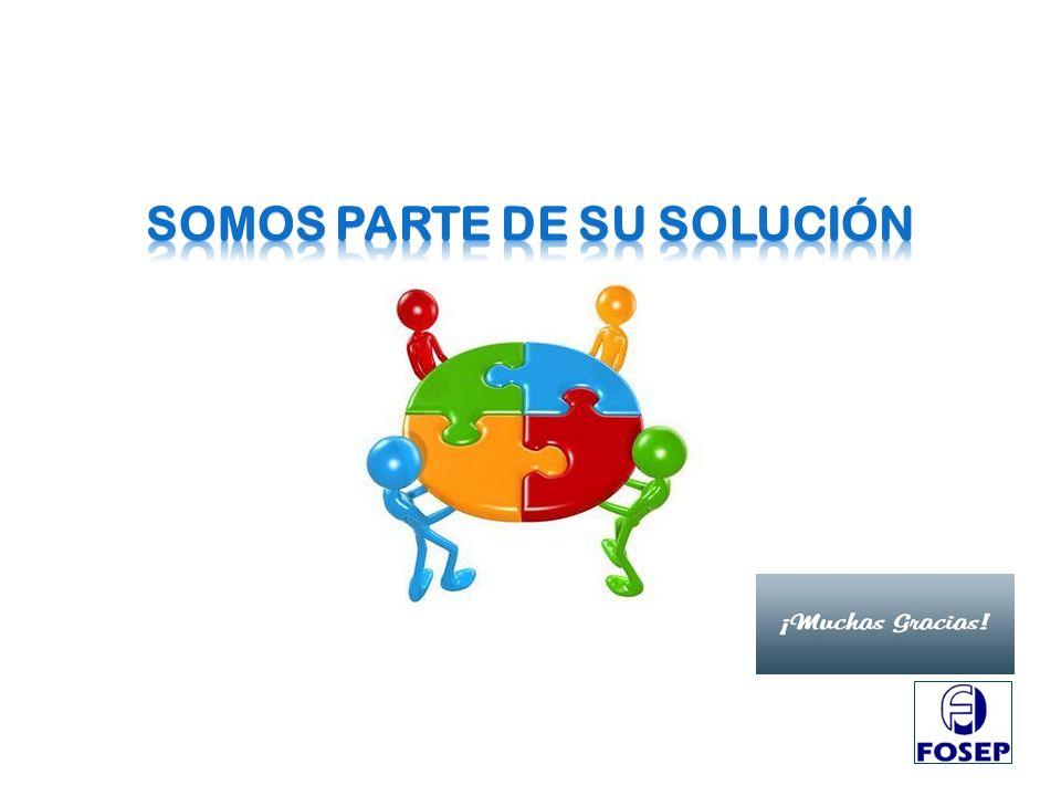 SOMOS PARTE DE SU SOLUCIÓN