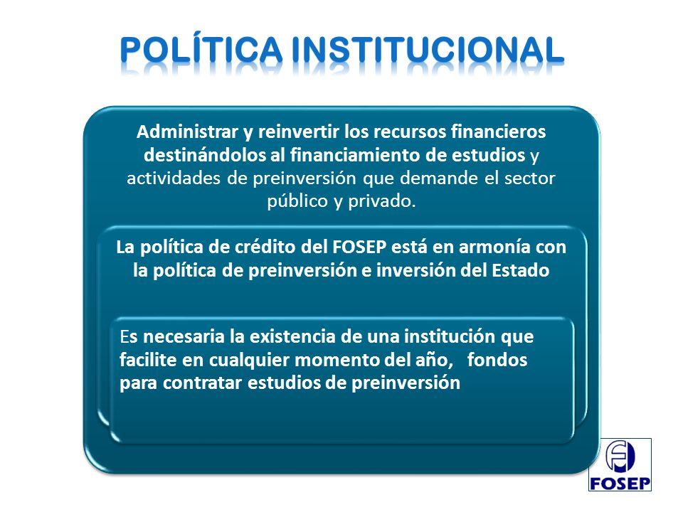 POLÍTICA INSTITUCIONAL