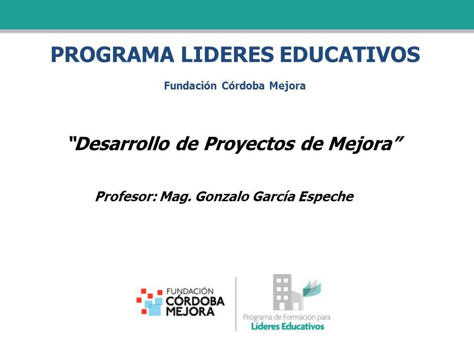 PROGRAMA LIDERES EDUCATIVOS