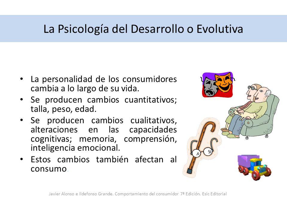 La Psicología del Desarrollo o Evolutiva