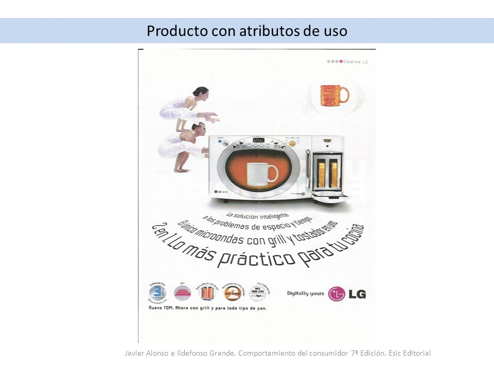 Producto con atributos de uso