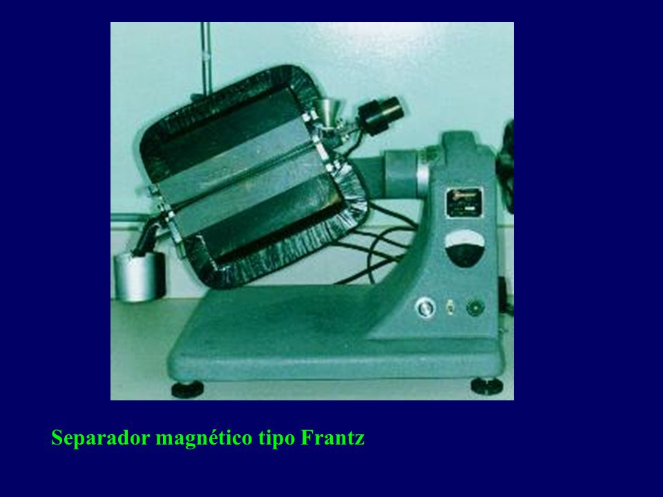 Separador magnético tipo Frantz