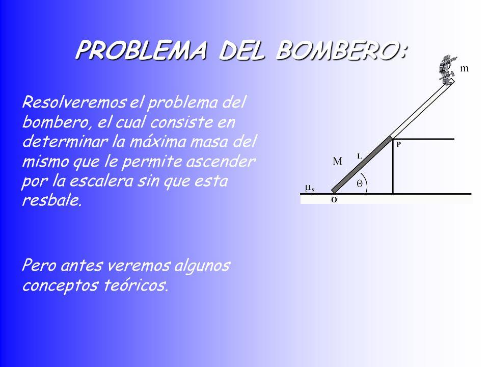 PROBLEMA DEL BOMBERO: