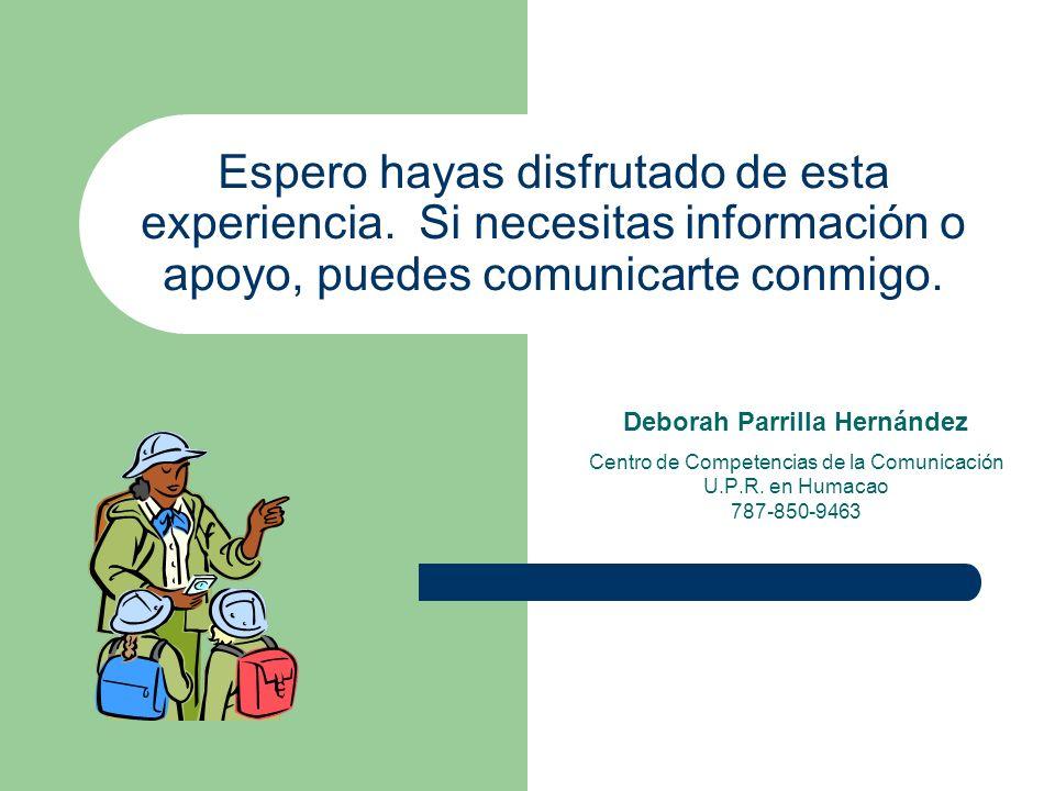 Deborah Parrilla Hernández