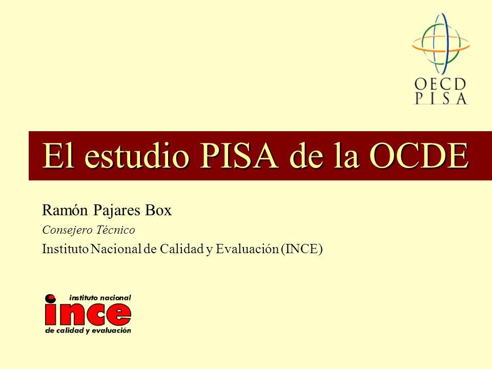 El estudio PISA de la OCDE
