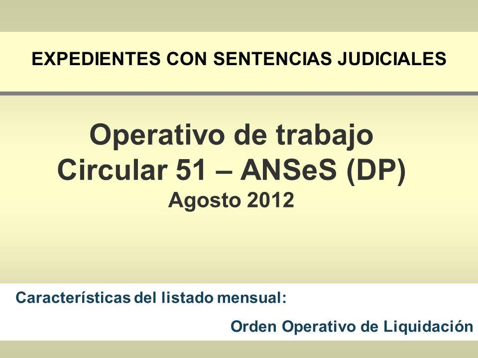 Expedientes con Sentencias Judiciales