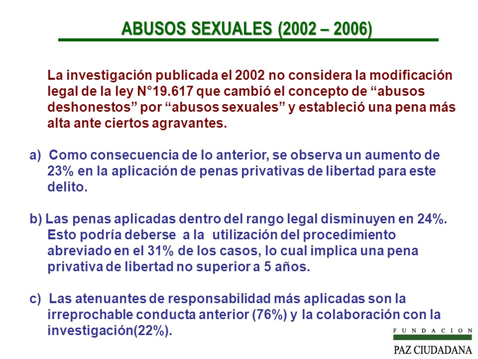 ABUSOS SEXUALES (2002 – 2006)