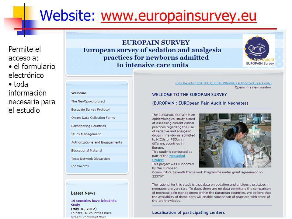Website: www.europainsurvey.eu