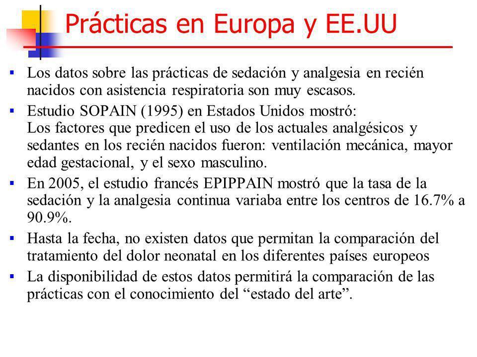 Prácticas en Europa y EE.UU