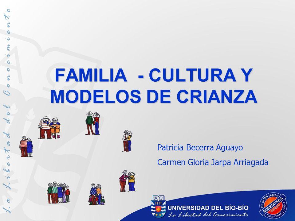 FAMILIA - CULTURA Y MODELOS DE CRIANZA