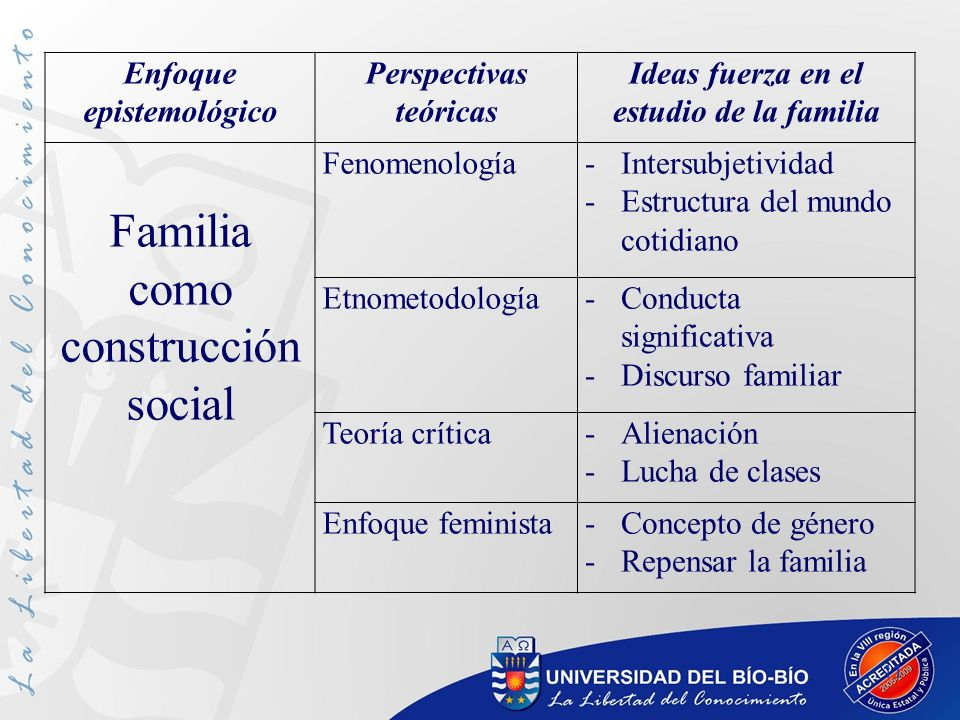 Familia como construcción social
