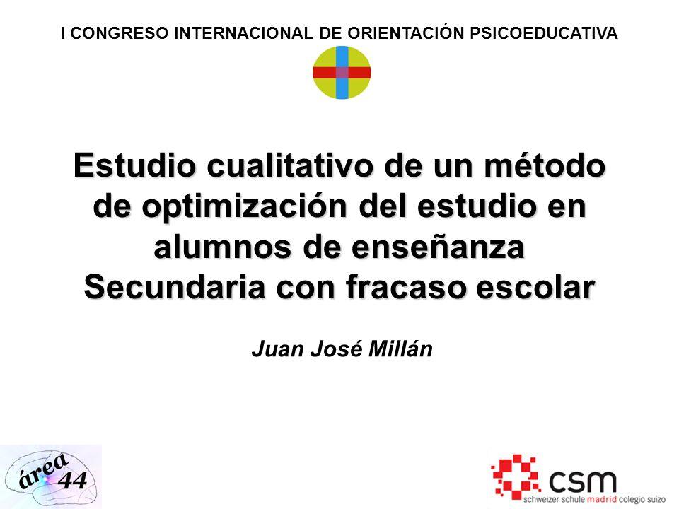 I CONGRESO INTERNACIONAL DE ORIENTACIÓN PSICOEDUCATIVA