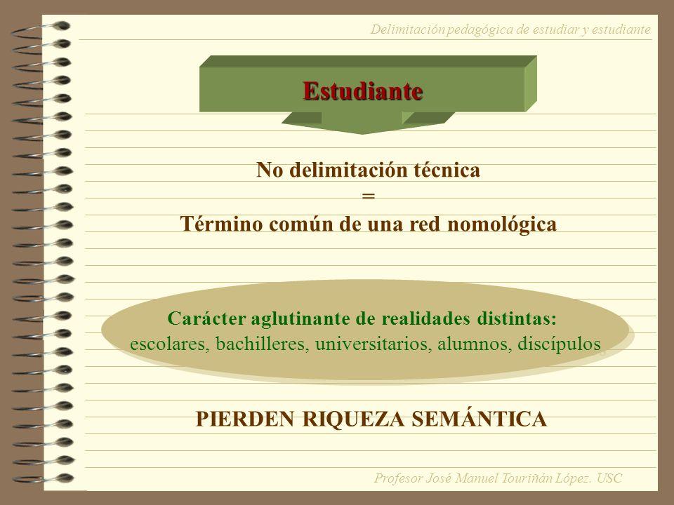 Estudiante No delimitación técnica =