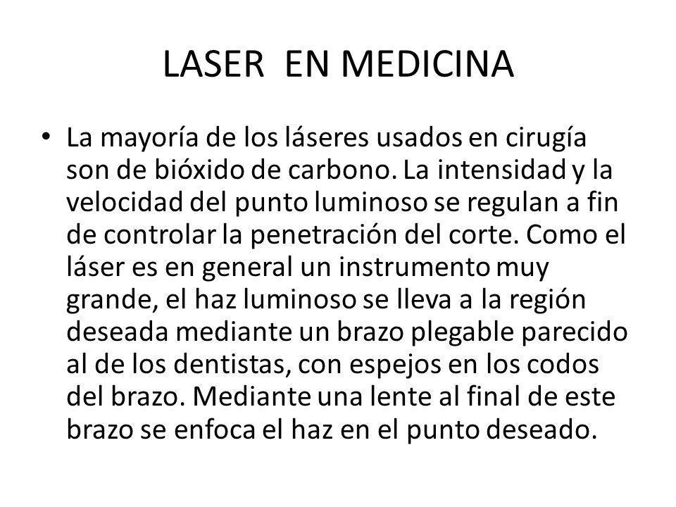 LASER EN MEDICINA