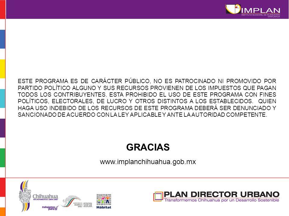 GRACIAS www.implanchihuahua.gob.mx