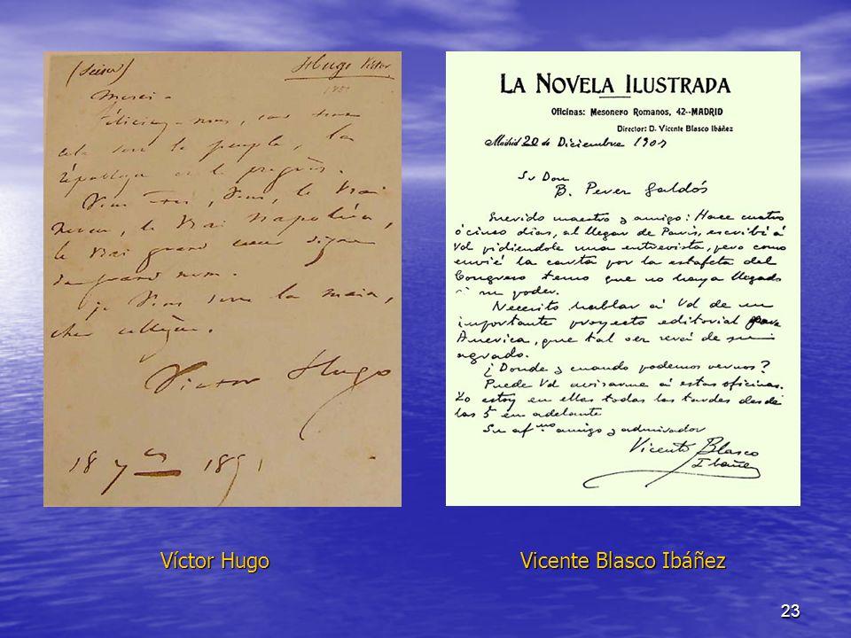 Víctor Hugo Vicente Blasco Ibáñez