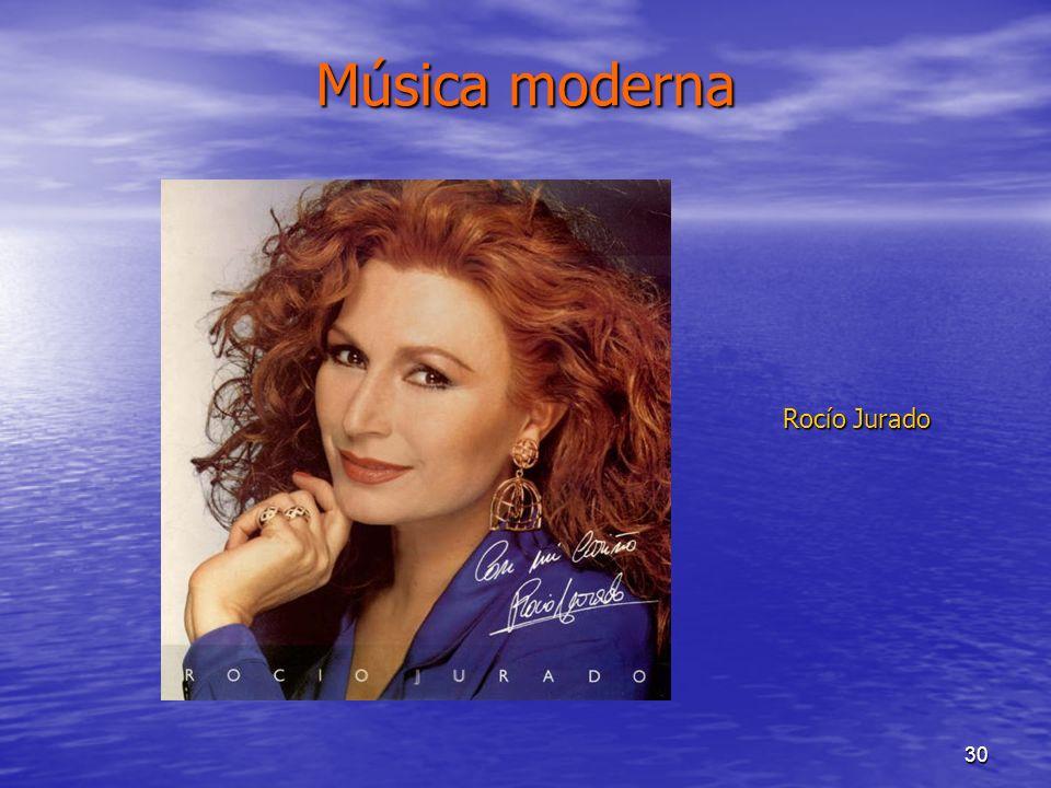 Música moderna Rocío Jurado