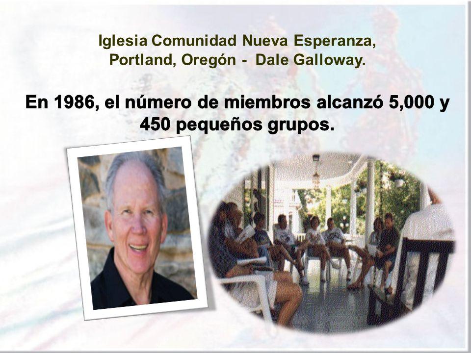 En 1986, el número de miembros alcanzó 5,000 y 450 pequeños grupos.