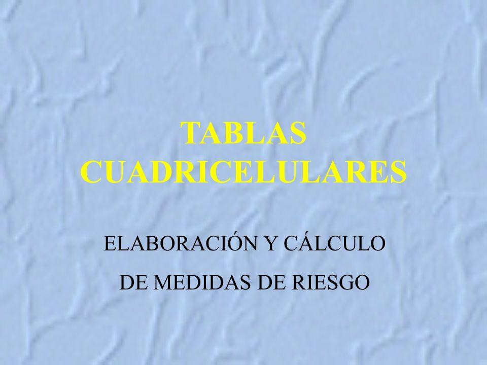TABLAS CUADRICELULARES