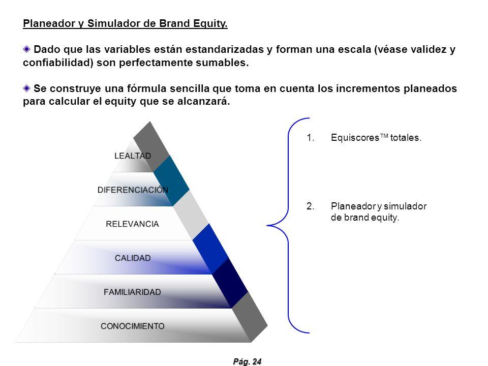 Planeador y Simulador de Brand Equity.