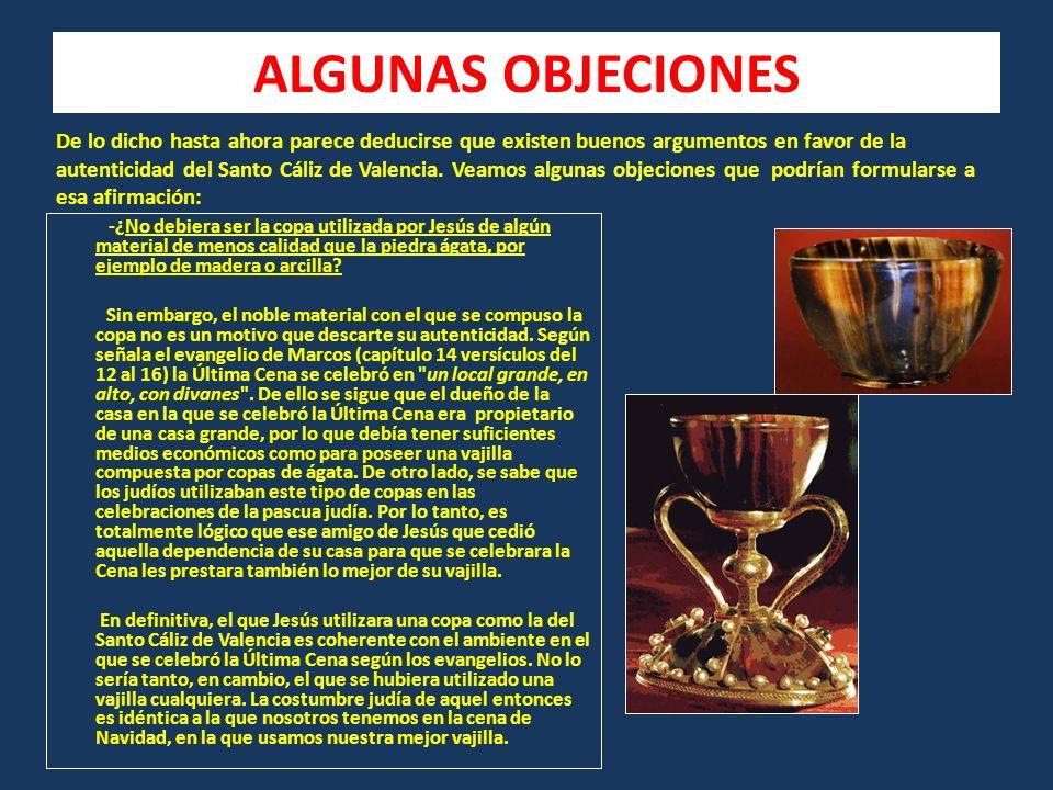 ALGUNAS OBJECIONES
