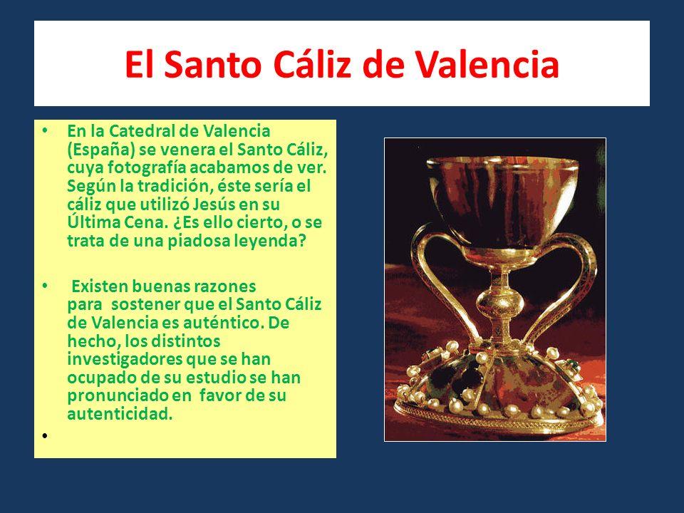El Santo Cáliz de Valencia